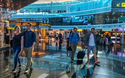 Comment l'aéroport devient une zone commerciale à part entière ?