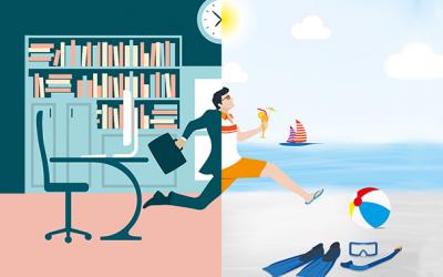 Infographie : Les Français (connectés) et leurs vacances