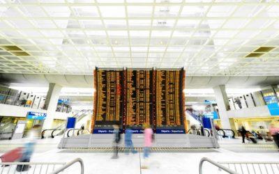 La transformation digitale des aéroports aura-t-elle raison du téléaffichage ?