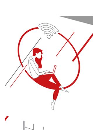 Infographie Hub One & Ucopia – Les divers utilisateurs du Wifi en entreprise