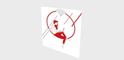 Infographie Hub One & Ucopia - Les divers utilisateurs du Wifi en entreprise