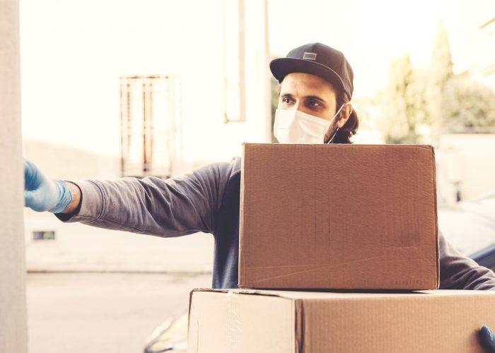 COVID utilisation du digital et de la livraison sans contact