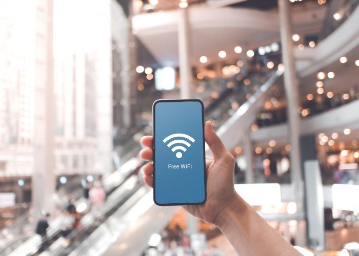 Connexion WiFi dans les espaces accueillant du public