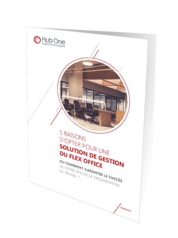 5 raisons d'opter pour une solution de gestion du Flex office