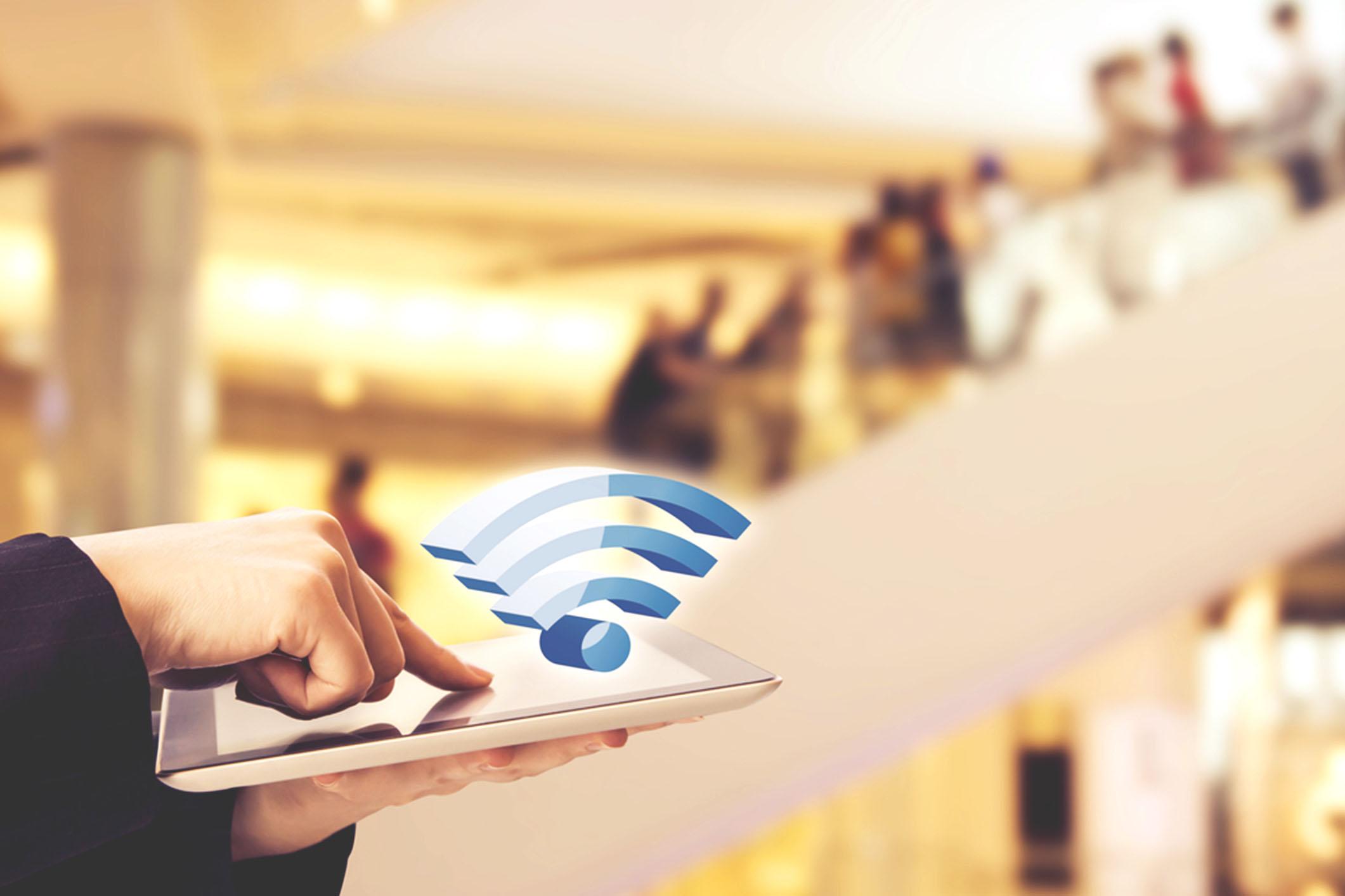 les commerçants ont changé leurs habitudes et recourent davantage à la technologie WiFi